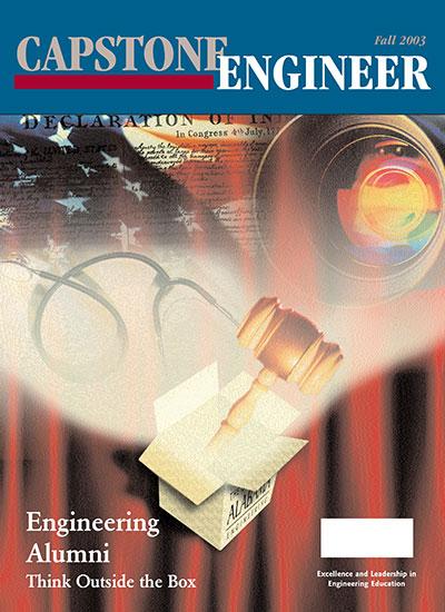 Fall 2003 Capstone Engineer cover