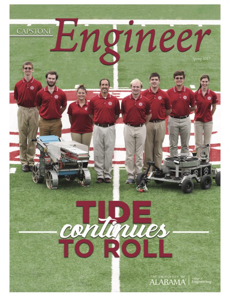 Spring 2017 Capstone Engineer Cover