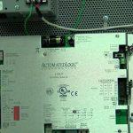 green lit inside of a mechanical device