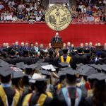 photo of commencement at UA
