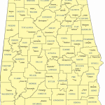 a map of Alabama counties