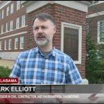 news screen capture of Dr. Mark Elliott